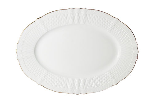 Блюдо овальное Бьянка