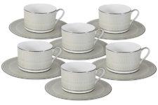 Чайный набор Маренго: 6 чашек + 6 блюдец