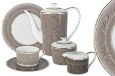 Чайный сервиз Мокко 21 предметов на 6 персон