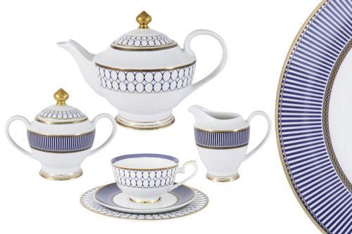 Чайный сервиз Адмиралтейский  23 предмета на 6 персон