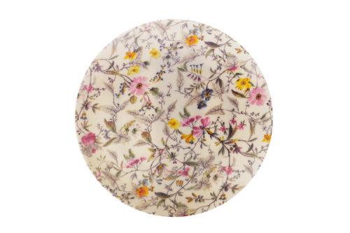 Тарелка Летние цветы в подарочной упаковке