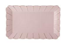 Блюдо прямоугольное (розовое) Свежее дыхание в подарочной упаковке