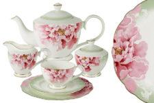 Чайный сервиз Заря 21 предмет на 6 персон