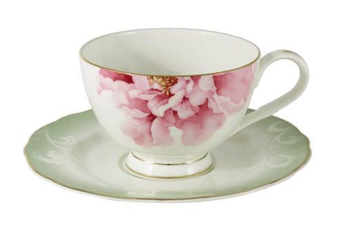 Чашка с блюдцем Заря