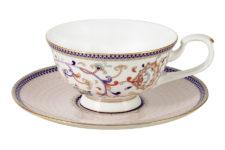 Чашка с блюдцем Королева Анна
