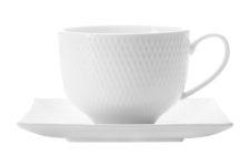 Чашка с квадратным блюдцем Даймонд без инд.упаковки
