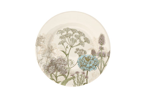 Тарелка десертная Ботаника (бежевая) без инд.упаковки