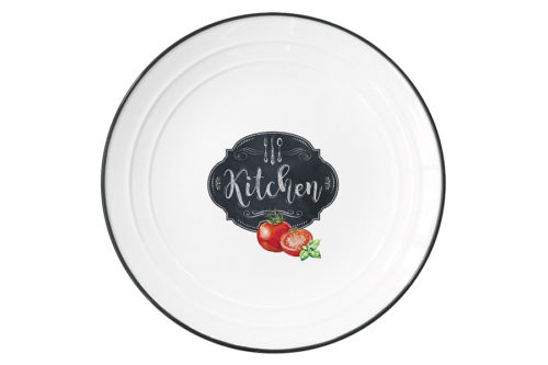 Тарелка Кухня в стиле Ретро без инд.упаковки