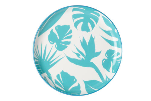 Тарелка обеденная Парадиз (голубая) без инд.упаковки