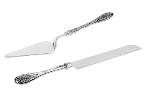 Набор сервировочный для торта Британи: нож, лопатка
