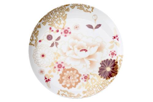 Тарелка Кимоно (белый)  в подарочной упаковке