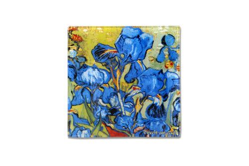 Тарелка квадратная Ирисы (Ван Гог) без инд.упаковки