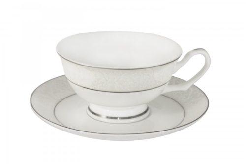 Чашка с блюдцем Мелисента