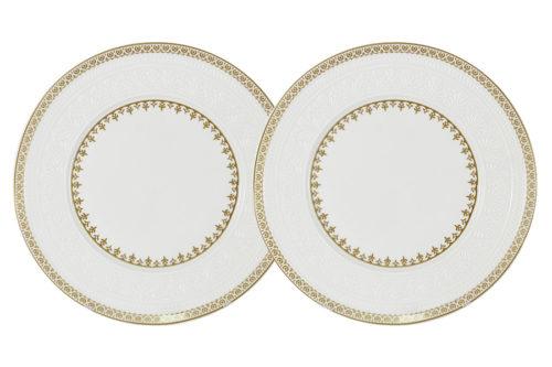 Набор из 2-х десертных тарелок Золотой замок
