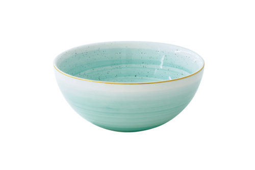 Салатник малый Artesanal (зел-голубая) без инд.упаковки