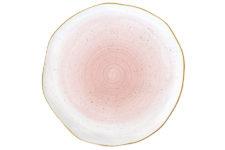 Тарелка Artesanal (розовая) без инд.упаковки