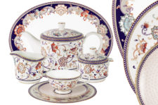 Чайный сервиз Королева Анна 40 предметов на 12 персон