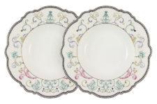 Набор из 2-х суповых тарелок Узор в подарочной упаковке