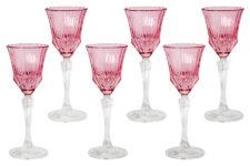 Набор: 6 рюмок для ликера Адажио - розовая