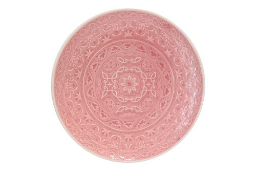 Тарелка закусочная (розовая) Ambiente без инд.упаковки
