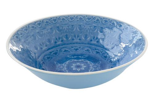 Тарелка суповая (голубая) Ambiente без инд.упаковки