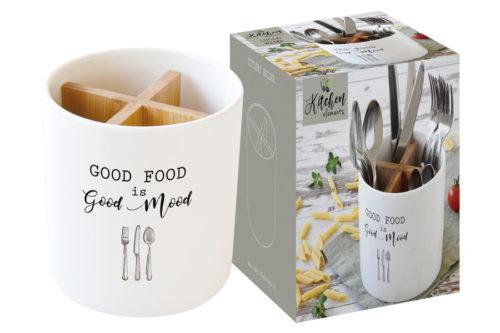 Банка-подставка п/кух.инструменты Kitchen Elements в подарочной упаковке