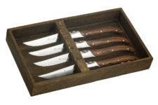 Набор из 4-х ножей для стейка Legnoart, серия FASSONA