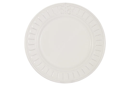 Тарелка обеденная Venice (белая) без инд.упаковки