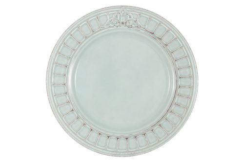 Тарелка обеденная Venice (голубая) без инд.упаковки