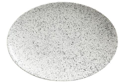 Тарелка овальная (пепел) Икра без инд.упаковки