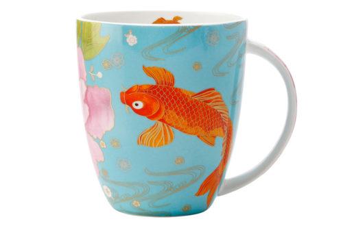 Кружка Золотая рыбка в подарочной упаковке