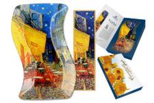 Тарелка фигурная Ночная терраса кафе (В. Ван Гог)