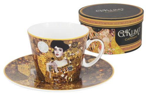 Чашка с блюдцем Адель (Г.Климт)