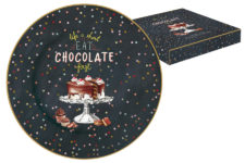 Тарелка десертная Hot Chocolate в подарочной упаковке