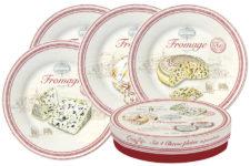 Набор из 4-х тарелок FROMAGE в подарочной упаковке