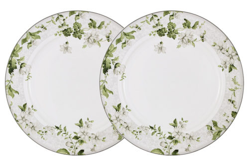 Набор из 2-х обеденных тарелок Веста в подарочной упаковке