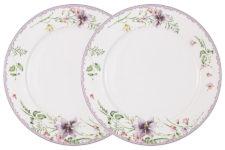 Набор из 2-х обеденных тарелок Селена в подарочной упаковке