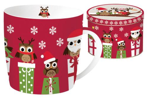 Кружка CHRISTMAS OWLS в подарочной упаковке