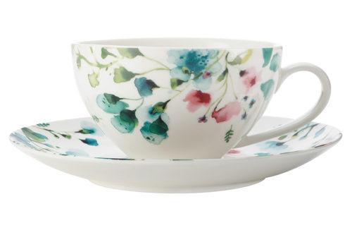 Чашка с блюдцем Primavera, большая, без инд.упаковки