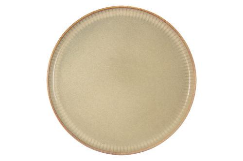 Тарелка обеденная Comet (песочный) в инд.упаковке