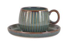 Чашка с блюдцем Comet (морская волна) в инд.упаковке