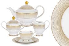Чайный сервиз Вирджиния 23 предмета на 6 персон