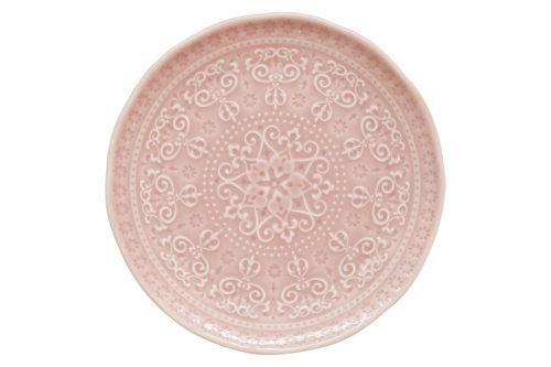 Тарелка закусочная (розовый) Abitare без инд.упаковки