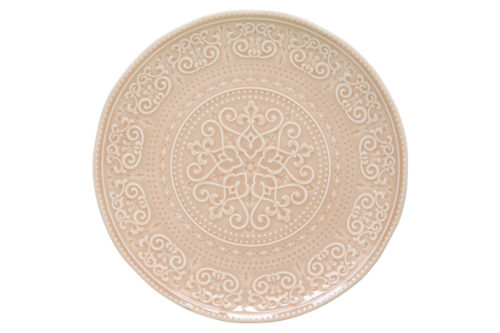 Тарелка обеденная (бежевый) Abitare без инд.упаковки