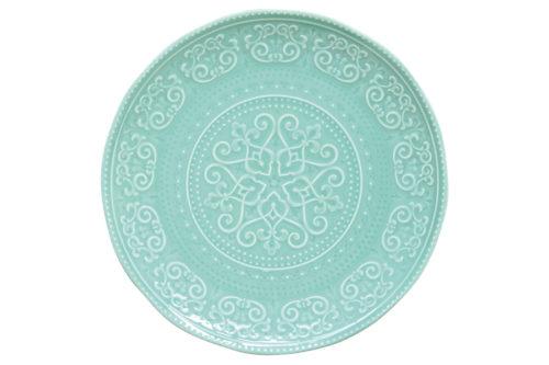 Тарелка обеденная (мятный) Abitare без инд.упаковки