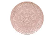 Тарелка обеденная (розовый) Abitare без инд.упаковки