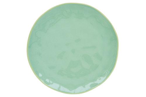 Тарелка закусочная (мятный) Interiors без инд.упаковки