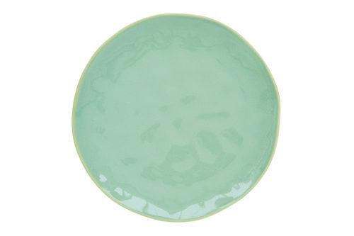 Тарелка обеденная (мятный) Interiors без инд.упаковки