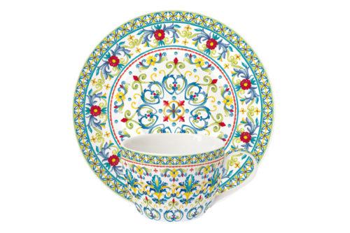 Чашка с блюдцем Средиземноморье без инд.упаковки