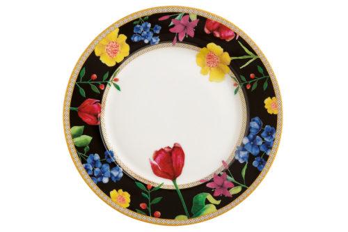 Тарелка десертная (чёрный) Contessa в подарочной упаковке
